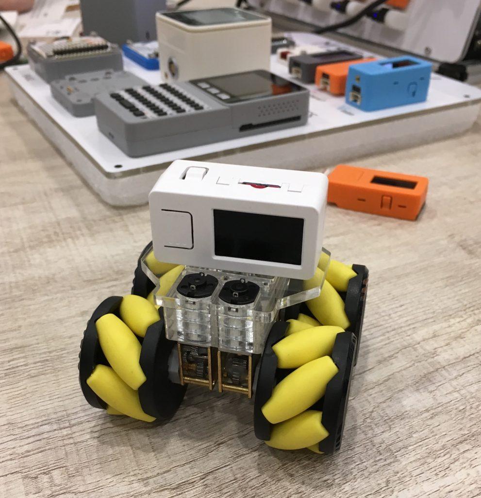 試作ミニ移動ロボット